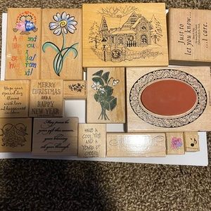 Stamping up miscellaneous set of stamps 15 include